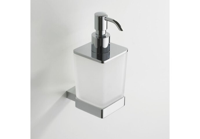Eris zeepdispenser chroom