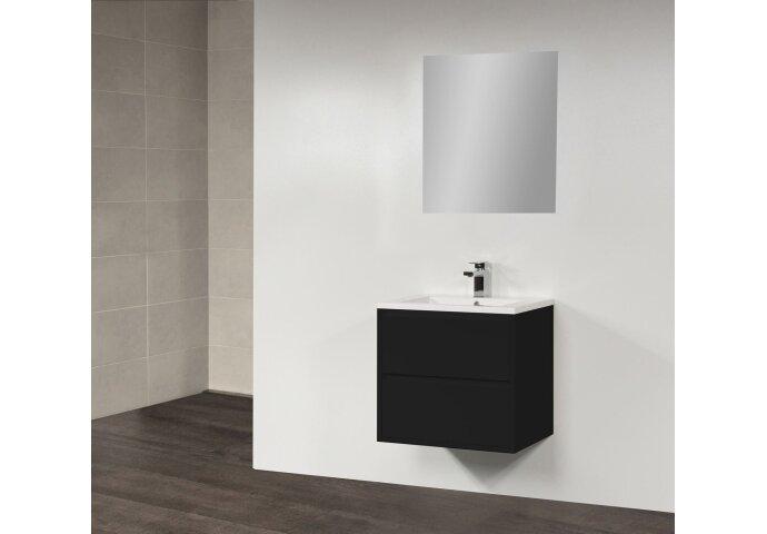 Badkamermeubel New Future (ondiep) 60 cm Zwart