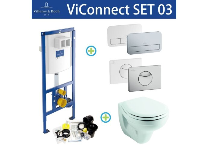 Villeroy & Boch ViConnect Toiletset SET03 Sphinx econ II   Tegeldepot.nl