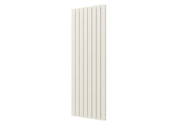 Designradiator Plieger Cavallino Retto Dubbel 1549 Watt Middenaansluiting 180x60,2 cm Wit Structuur