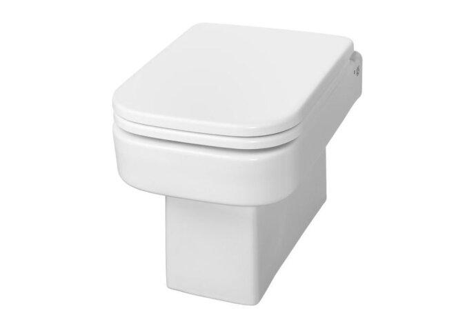 Wandcloset Wiesbaden Carré met toiletzitting EasyCleaning | Tegeldepot.nl
