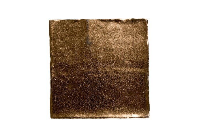 Vtwonen Wandtegel Villa Dark Gold 13x13 cm (doosinhoud 1 m2)