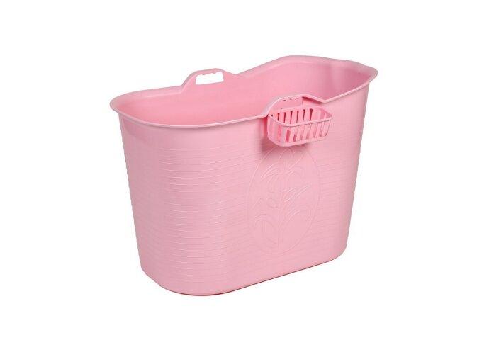 Zitbad Bath Bucket Voor Volwassenen Roze 92x51x63cm Voor 200 Liter