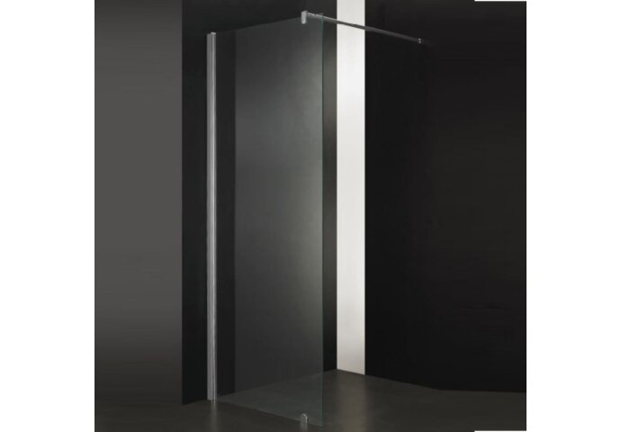 Douchewand Sanilux 105x200 cm met Muurprofiel 10mm Helder Glas Taylor Protect