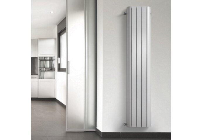 Handdoekradiator Alu Smooth Wit 210cm Hoog (In 7 Verschillende Maten)