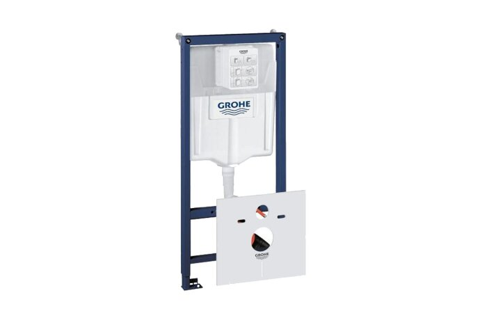 Inbouwreservoir Grohe Rapid SL WC element Met wand bevestigingsset