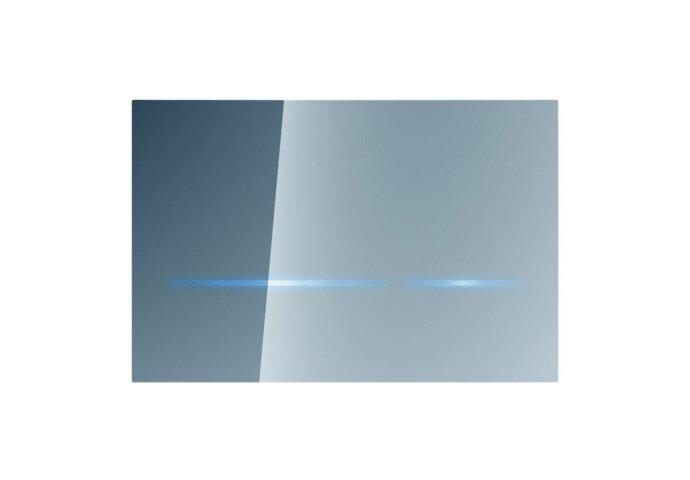 Geberit Sigma 80 Bedieningsplaat Infrarood 230 V Touch Free Spiegelglas tav UP320