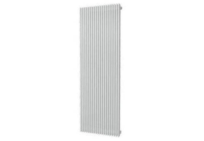 Handdoekradiator Aika Retta 1800 x 595 mm Antraciet Metallic