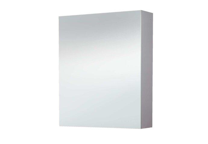 Spiegelkast Sanilux White zonder verlichting Hoogglans Wit 58x70x16cm rechts