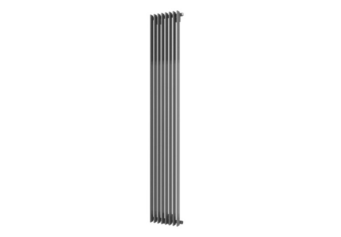 Designradiator Aika 1800 x 300 mm Zilver metallic