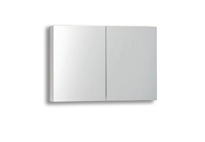 Spiegelkast Sanilux White zonder verlichting Hoogglans Wit 80x70x16cm