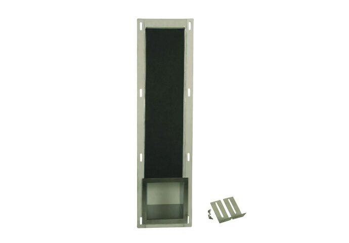 Reserve toiletrol houder Inbouw Sanilux RVS 14x66x12cm SSP2006